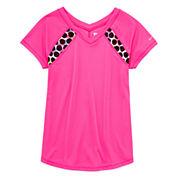 Xersion Girls Short Sleeve T-Shirt-Big Kid