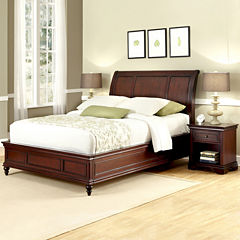 Roxberry Sleigh Bed or Headboard and Nightstand