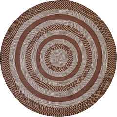 Better Trends Newport Braid Round Rug