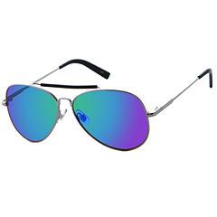 Claiborne Round UV Protection Sunglasses-Mens