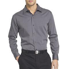 Van Heusen® Long-Sleeve Sateen Stripe Woven Shirt