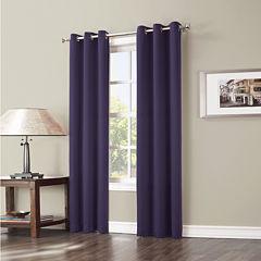 Sun Zero™ Evan Blackout Grommet-Top Curtain Panel