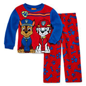 Boys Long Sleeve Kids Pajama Set-Toddler
