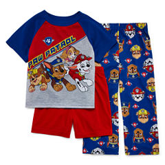 Paw Patrol 3-pc. Pajama Set- Toddler Boys