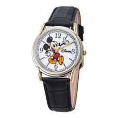 Disney® Mens Cardiff Twotone Mickey Watch