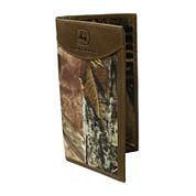 John Deere® Camo Checkbook Wallet