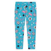 Total Girl Dots Knit Leggings - Preschool