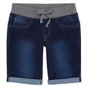 Arizona Knit Bermuda Shorts - Girls 7-16