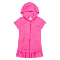 Okie Dokie Girls Solid Dress-Toddler