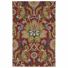 Kaleen Home And Porch Jacobean Hand Tufted Rectangular Rugs