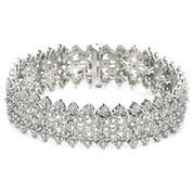 1 CT. T.W. Diamond Bracelet Sterling Silver
