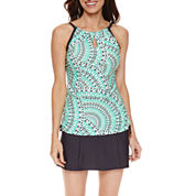 Free Country ® Keyhole Tankini or Shirred Waistband Skirt