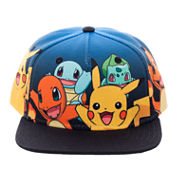 Pokemon Aop Multi Character Baseball Cap