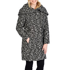 Excelled® Bouclé Hooded Jacket