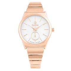Decree Womens Rose Goldtone Strap Watch-Pt2583rg