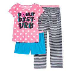 Total Girl Kids Pajama Set Girls