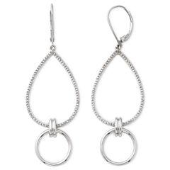 Diamond Addiction 1/10 CT. T.W. Diamond Double-Drop Earrings