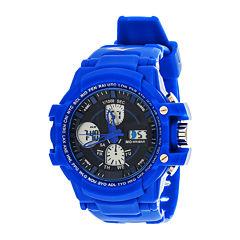 Everlast® Mens Blue Strap Analog/Digital Sport Watch