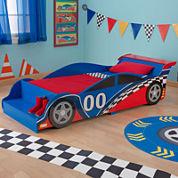 KidKraft® Racecar Toddler Bed