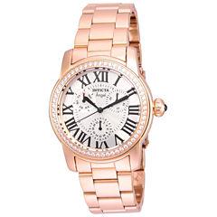 Invicta Womens Gold Tone Bracelet Watch-21706