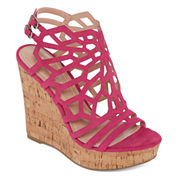 Style Charles Womens Wedge Sandals