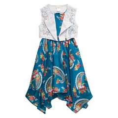 Young Land Jacket Dress Toddler Girls