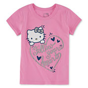 Hello Kitty Hello Kitty Graphic T-Shirt-Preschool Girls