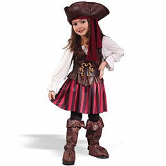 High Seas Buccaneer Girl Toddler Costume