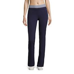 Made For Life Knit Stripe & Dot Workout Pants