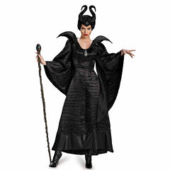 Buyseasons Maleficent Christening Black Gown 3-pc. Dress Up Costume