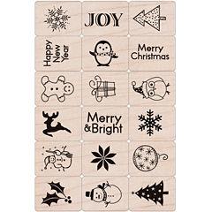 Hero Arts Ink 'n Holiday Stamp Set