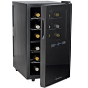 Wine Enthusiast® 18-Bottle Silent Dual Zone Touchscreen Wine Refrigerator