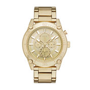Relic Mens Gold Tone Bracelet Watch-Zr15880