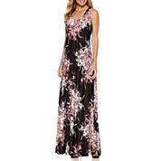 Danny & Nicole Sleeveless Maxi Dress