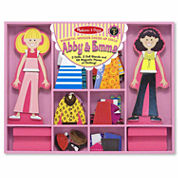 Melissa & Doug® Abby & Emma Magnetic Dress-Up