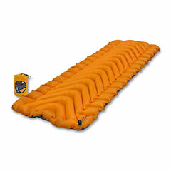 Klymit Insulated Static V Lite Camping Pad-Orange