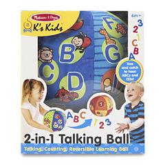 Melissa & Doug® 2 in 1 Talking Ball