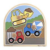 Melissa & Doug® Construction Site Jumbo Knob Puzzle