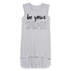 Total Girl Extreme Hem Tunic Tank Top - Girls' 7-16 and Plus