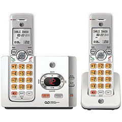 AT&T EL52215 DECT 6.0 Cordless Answering System with Caller ID/Call Waiting - 2 Handsets