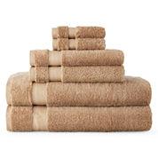 Royal Velvet® Luxury Egyptian Cotton Loops 6-pc. Bath Towel Set