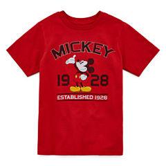 Disney Boys Mickey Mouse Classic Graphic T-Shirt - Big Kid