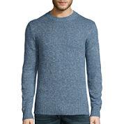 St. John's Bay® Long-Sleeve Classic-Fit Crewneck Sweater