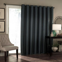 Eclipse Blackout Grommet-Top Patio Door Curtain