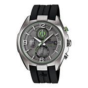 Casio® Edifice Active Racing Mens Black Resin Strap Watch EFR529-7AVCF