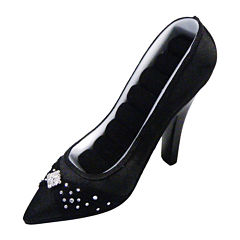 Black Shoe Ring Holder