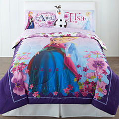 Disney Frozen Celebrate Love Reversible Comforter