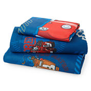 Disney Cars Hometown Twin Sheet Set