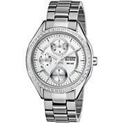 Drive from Citizen® Eco-Drive® Womens Silver-Tone Watch FD1060-55A