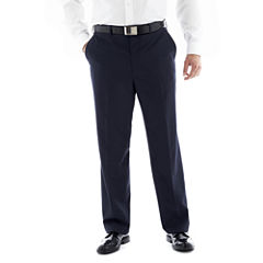 JF J. Ferrar® End on End Flat–Front Suit Pants–Big & Tall